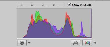 sample histogram for monitoring exposure