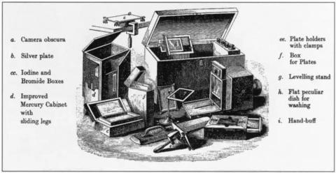 Daguerreotype Components