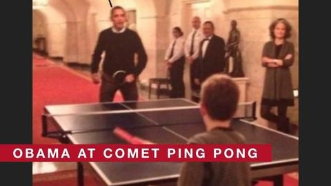 Obama ping pong pizza gate conspiracy theories