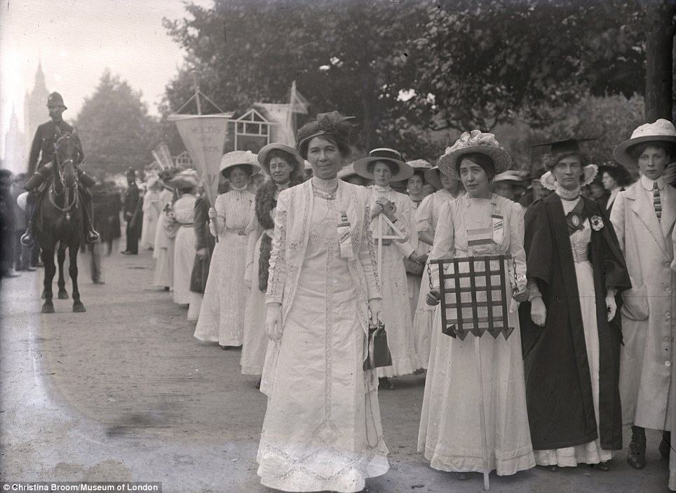 Suffragette Activity 1908-1914 (Christina Broom)