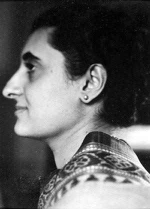 Indira Ghandi (Dorothy Norman)