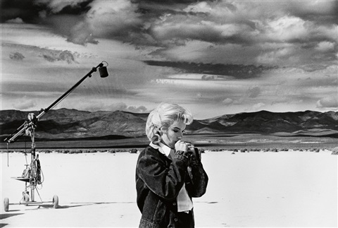 Marilyn Monroe on the set of The Misfits (Eve Arnold)