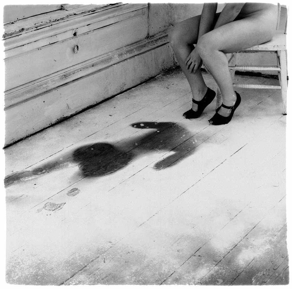 Untitled, Providence, Rhode Island, 1976 (Francesca Woodman