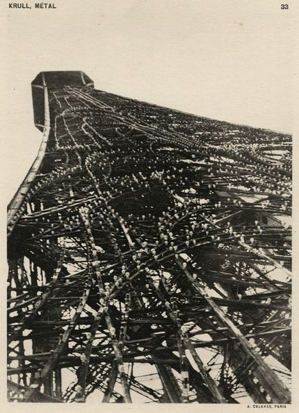 Eiffel Tower circa 1926 (Germaine Krull)