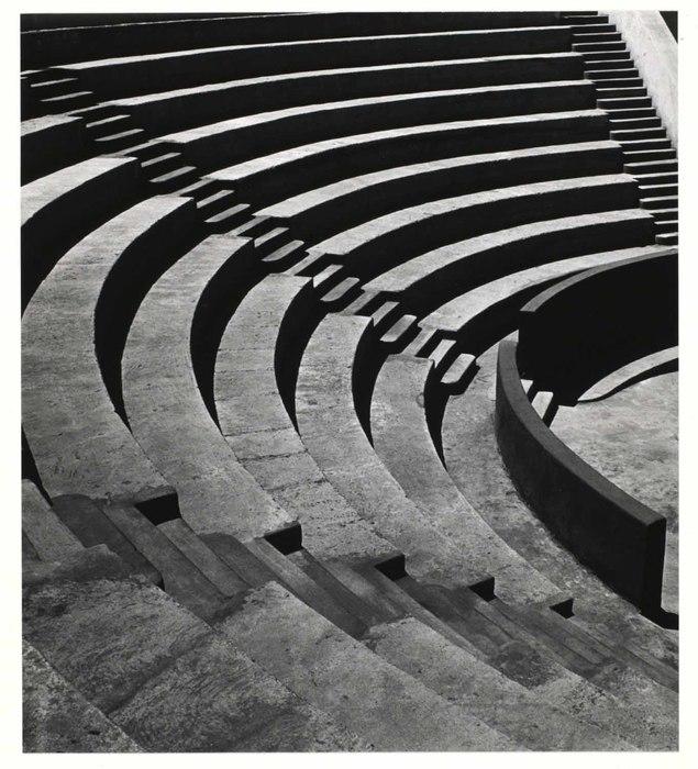 Mills College Amphitheater (Imogen Cunningham)