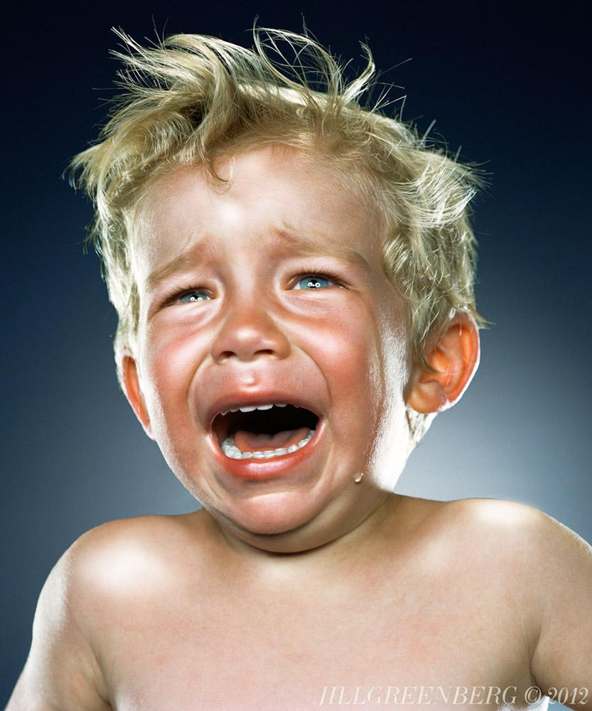 Photoshopped Crying Baby (Jill Greenberg)