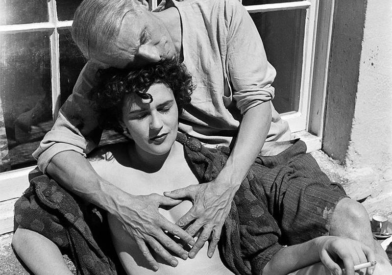 Leonora Carrington with Max Ernst 1937 (Lee Miller)