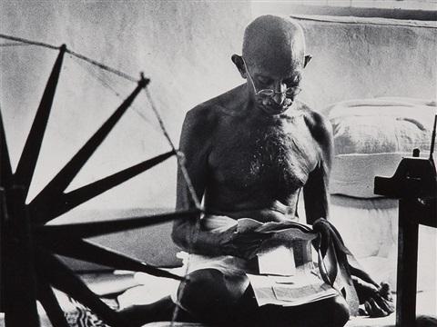 Mahatma Gandhi(Margaret Bourke-White)