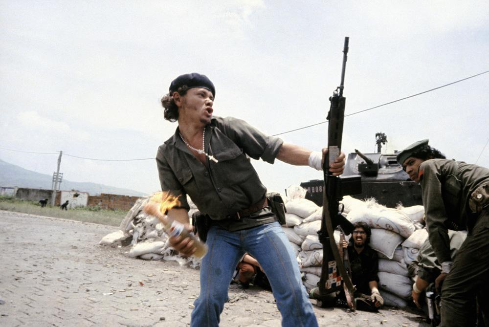 Molotov Man (Susan Meiselas)